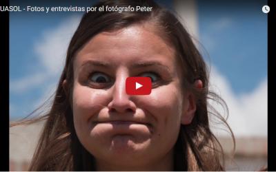 Fotos y entrevistas en Ecuasol