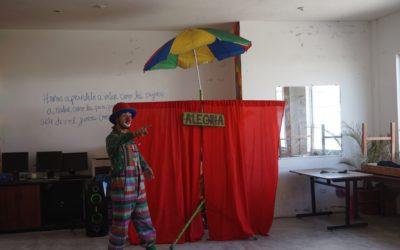 Espectáculo de circo en la fundación!!