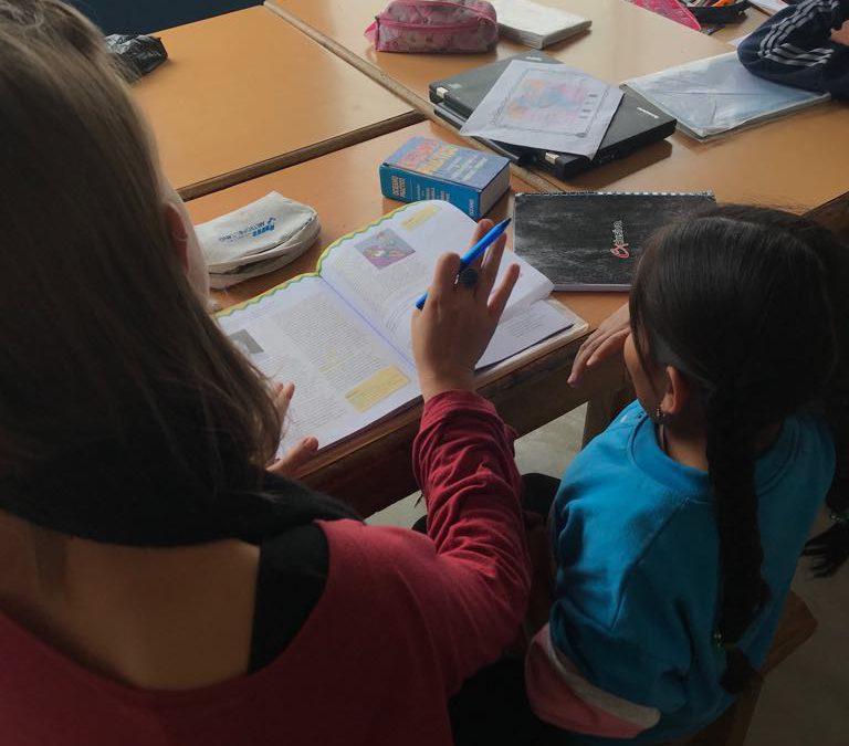 El apoyo escolar en Ecuasol.